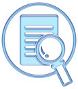 Search button, search icon Royalty Free Stock Photo