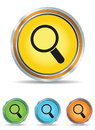 Search icons set Royalty Free Stock Image