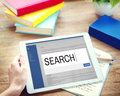 Search Internet Browse Information SEO Concept Royalty Free Stock Photo