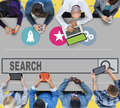 Search searching seo online internet browsing web concept Stock Photo