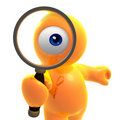 Searching eye icon Stock Photos