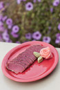 Seared ahi tuna Royalty Free Stock Photo