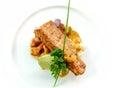 Seared fish Royalty Free Stock Photo