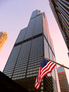 Sears Tower in Chicago Stock Photos