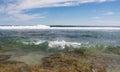 Seascape at Blue Holes Beach Royalty Free Stock Photo