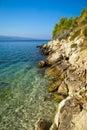 Seascape at Bol, Brac, Croatia Royalty Free Stock Photo
