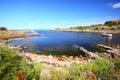 Seascape Christiansoe island Bornholm Denmark Royalty Free Stock Photo