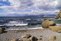 Seascape in Crimea. Royalty Free Stock Photography