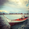 Seascape in malaysia with bule sky Stock Photo