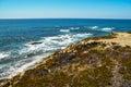 Seascape at Vila nova de Milfontes, Portugal Royalty Free Stock Photo
