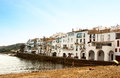 The seashore of Cadaques Costa Brava Royalty Free Stock Image