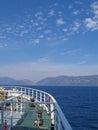 Seashore at Ithaka, Greece Royalty Free Stock Photo
