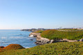 Seashore in Santa Cruz, California Royalty Free Stock Photo