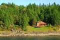 Seaside cottage Royalty Free Stock Images