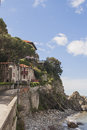Seaside houses in italy villas Stock Photo