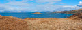 Seaside landscape on the isle of kerrera scotland uk Stock Photos