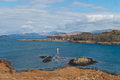 Seaside landscape on the isle of kerrera scotland uk Stock Photos