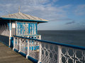 Seaside pier Royalty Free Stock Photo
