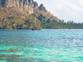 At the seaside sunshine beautiful landscape at seaside krabi thailand Stock Image