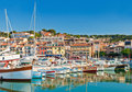 The seaside town of Cassis in the French Riviera Royalty Free Stock Photography