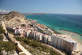 Seaside view of Alicante, Spain Stock Images