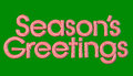 Season's Greetings Royalty Free Stock Images