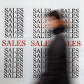 Season sales Royalty Free Stock Photo
