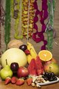 Seasonal fruits ideal to be consumed on carnival revelry days Royalty Free Stock Photo