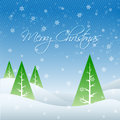 Seasonal greeting vector winter merry christmas Royalty Free Stock Photo