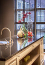 Seasonal kitchen detail of decoration Royalty Free Stock Images