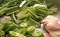 Seasonings of chinese food Stock Photo