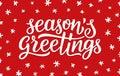 Seasons Greetings Calligraphy ...