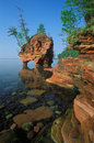 Seastack Apostle Islands Royalty Free Stock Photo