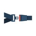 Seat Belt icon isolated