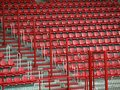 Seat rows Royalty Free Stock Image