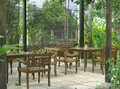 Seating Terrace In The Nature