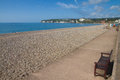 Seaton beach Devon England Stock Photos
