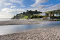 Seaton cornwall england uk beach at south east europe Stock Photos