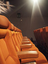 Seats in cinema Stock Image