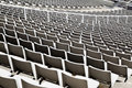 Seats at stadium Stock Photography