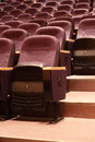 Seats in Theater Royalty Free Stock Photo
