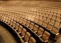 Seats in a theater Royalty Free Stock Images