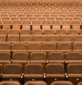 Seats in a theater Stock Photography