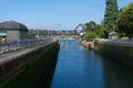 Boat Locks Royalty Free Stock Photo