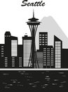 Seattle city Royalty Free Stock Photo