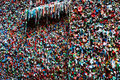 Seattle Gum Wall Stock Image