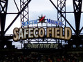 Seattle Mariners Safeco Field True to the Blue sign