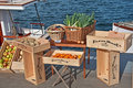 SEATTLE - NOVEMBER 9 - Floating Farmer Market Stock Image