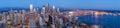 Seattle skyline at twilight Royalty Free Stock Photo