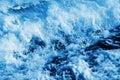 Seawater splashing Royalty Free Stock Photo
